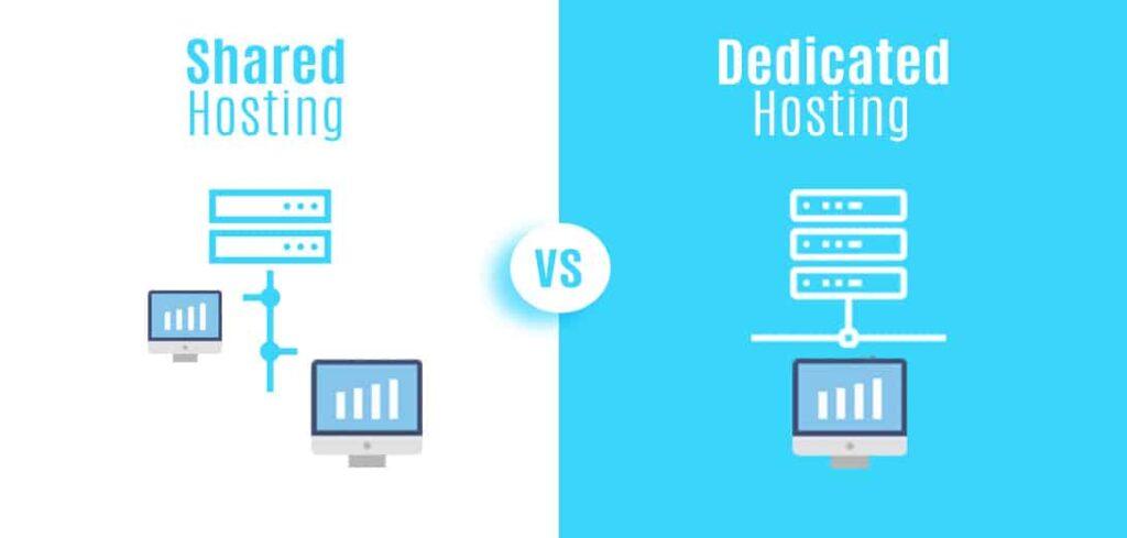 Shared Hosting vs Dedicated Hosting: An Outline