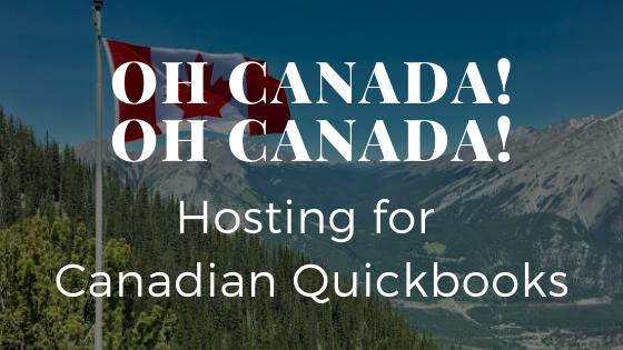 QuickBooks Canada Hosting