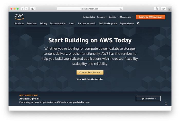 Amazon web services: Node js server