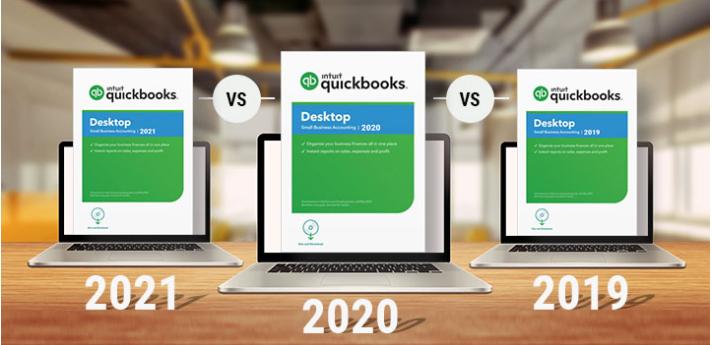 Quickbooks 2021 vs 2020 vs 2019 comparison: Quickbooks 2020