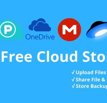 Best Free Cloud Server Storage